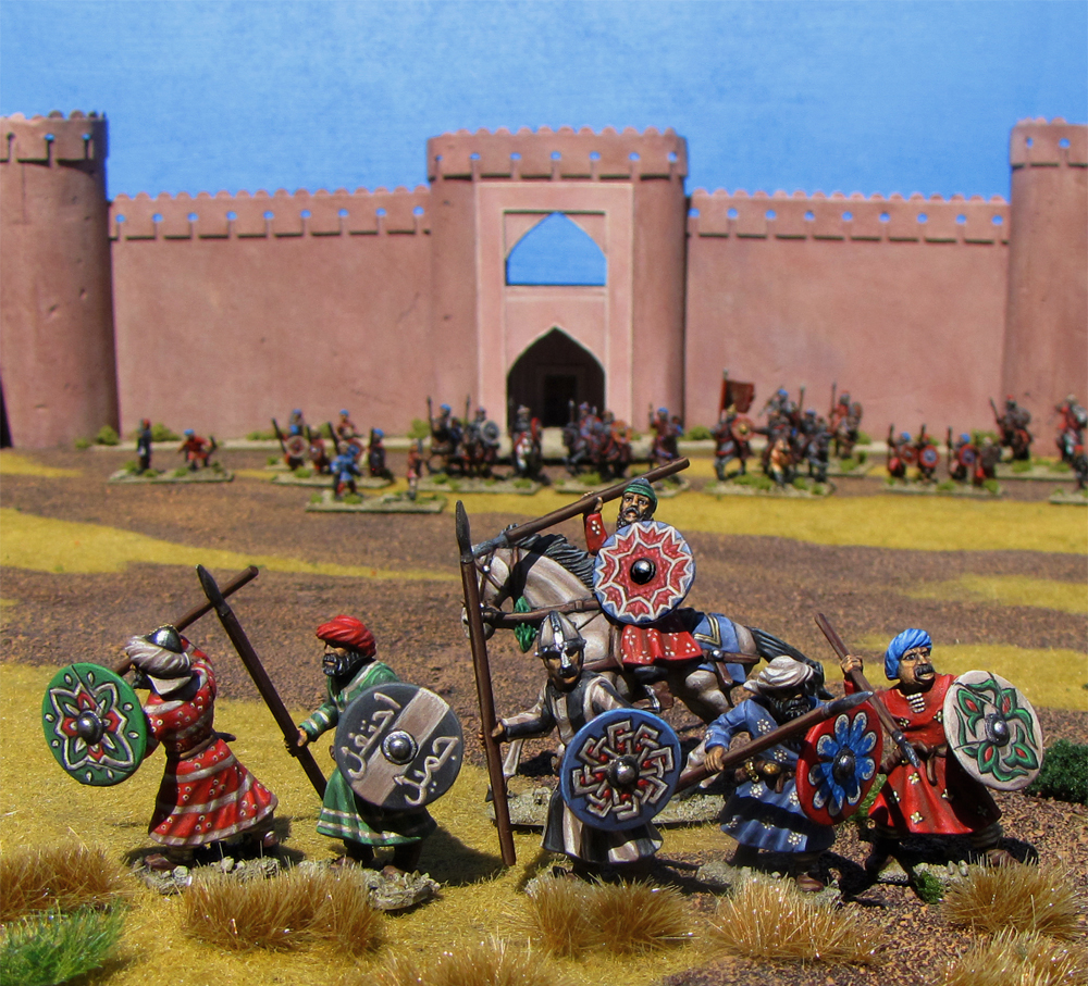 The Defense of Cordoba 28mm miniatures from Gripping Beast Miniatures painted by Neldoreth - An Hour of Wolves & Shattered Shields