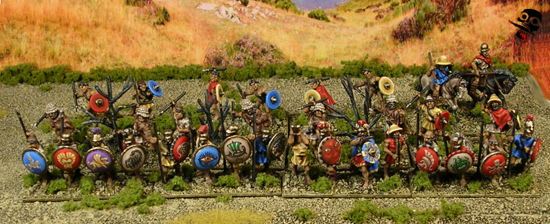 battles persians hannibals battles romans gauls spanish hand miniatures told