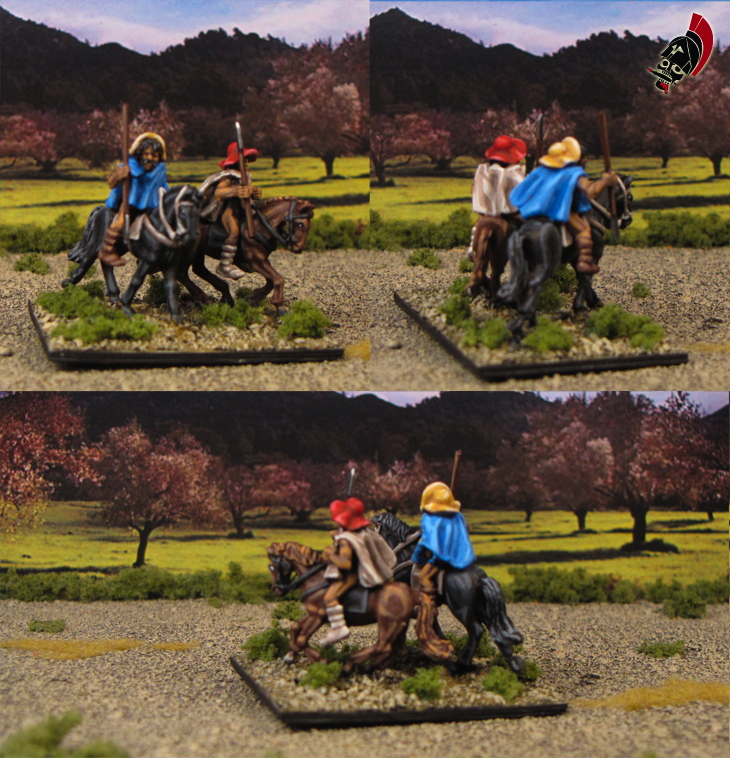 15mm Ancient Greek Thessalian Cavalry from Xyston Miniatures painted by Neldoreth - An Hour of Wolves & Shattered Shields
