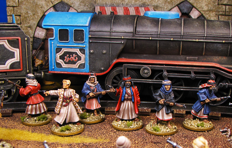 Arab Revolt WWI from Artizan Designs painted by Neldoreth - An Hour of Wolves & Shattered Shields