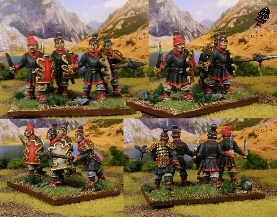 Chinese Warring States from Renegade Miniatures painted by Neldoreth - An Hour of Wolves & Shattered Shields