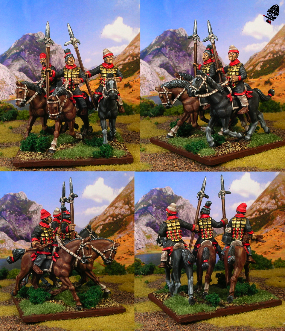 Chinese Warring States cavalry from Renegade Miniatures painted by Neldoreth - An Hour of Wolves & Shattered Shields
