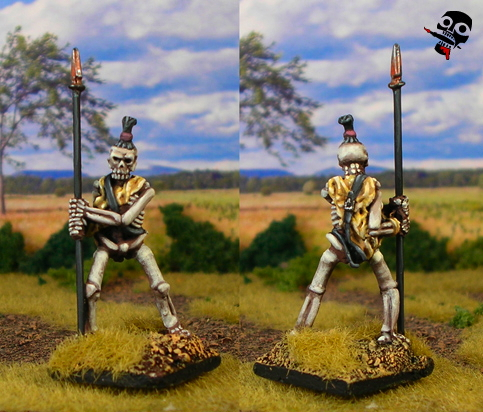 Skeleton from Reaper Miniatures painted by Neldoreth - An Hour of Wolves & Shattered Shields