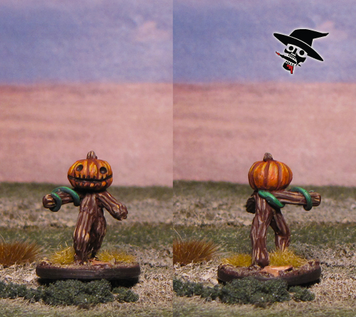 Pumpkin Twig Blights from Neldoreth's Miniatures painted by Neldoreth - An Hour of Wolves & Shattered Shields