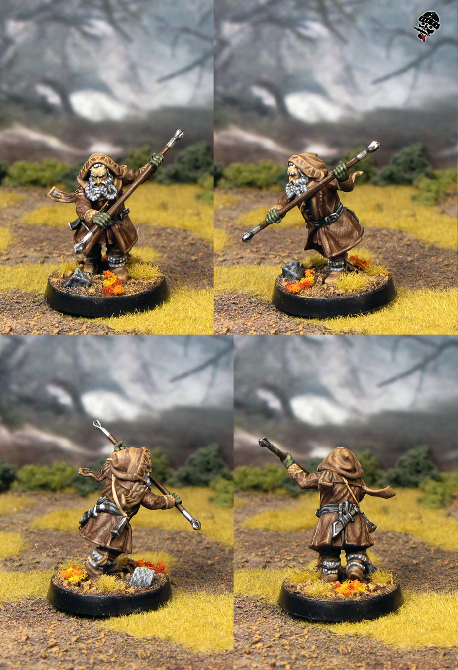Oin from the Escape from Goblin town box set from Games Workshop painted by Neldoreth - An Hour of Wolves & Shattered Shields
