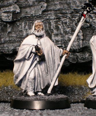 Gandalf the White from Games Workshop painted by Neldoreth - An Hour of Wolves & Shattered Shields