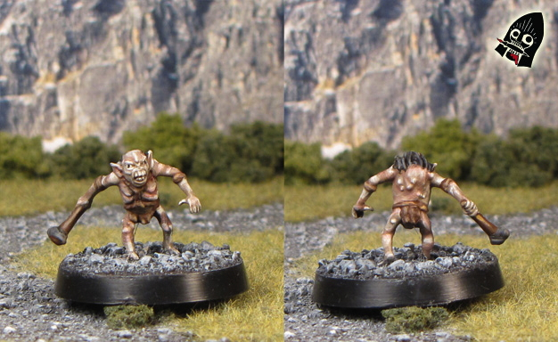 Goblins of the Misty Mountains from  painted by Neldoreth - An Hour of Wolves & Shattered Shields