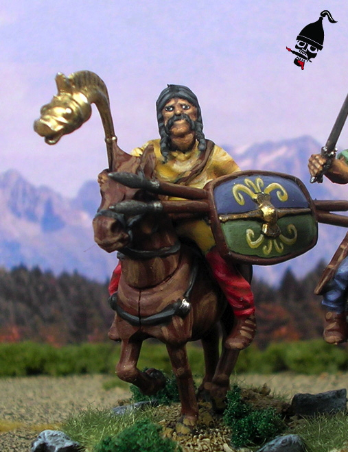 Celtic Cavalry from Wargames Factory painted by Neldoreth - An Hour of Wolves & Shattered Shields
