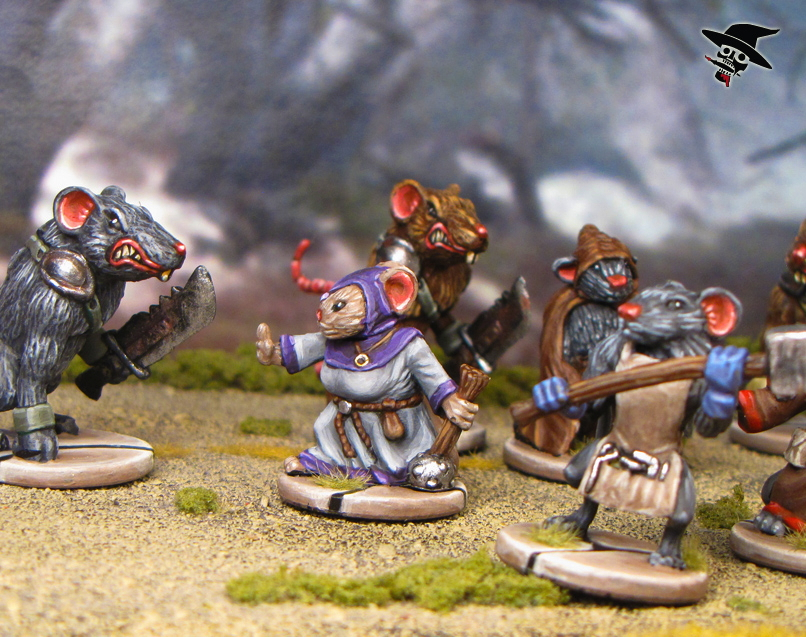 Mice & Mystics The Mice Attacked from Plaid Hat Games painted by Neldoreth - An Hour of Wolves & Shattered Shields