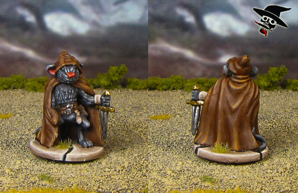 Mice & Mystics Filch the Thief from Plaid Hat Games painted by Neldoreth - An Hour of Wolves & Shattered Shields