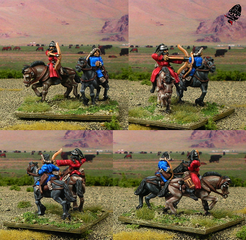 15mm Mongol Conquest from Navwar Naismith Designs painted by Neldoreth - An Hour of Wolves & Shattered Shields