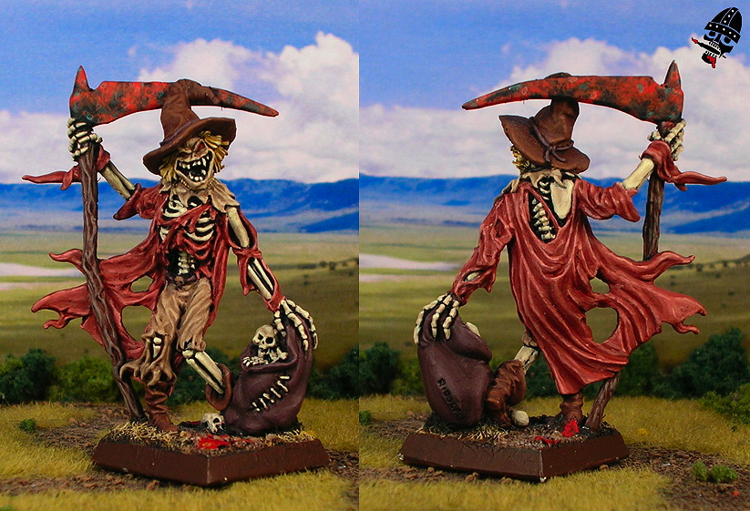 Guantfield scarecrow from Reaper Miniatures painted by Neldoreth - An Hour of Wolves & Shattered Shields