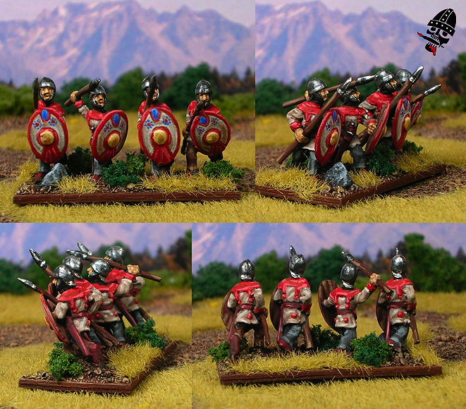 II/83a Patrician Roman Army from Alain Touller Figurines painted by Neldoreth - An Hour of Wolves & Shattered Shields