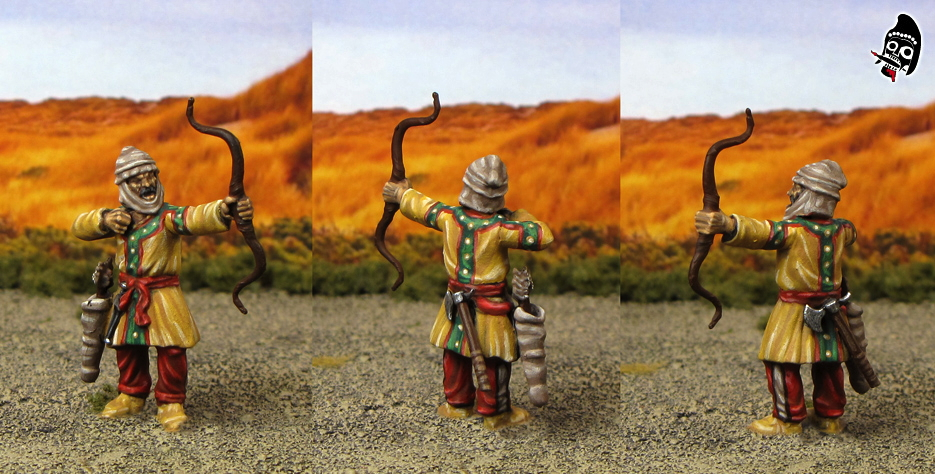 Ancient Persian Archer from Wargames Factory painted by Neldoreth - An Hour of Wolves & Shattered Shields
