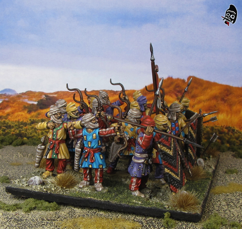 Ancient Persian Kardakes from Wargames Factory painted by Neldoreth - An Hour of Wolves & Shattered Shields
