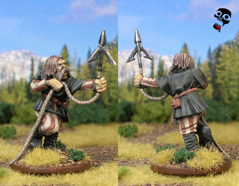 Sea Raider with grappling hook from Old Glory/West Wind painted by Neldoreth - An Hour of Wolves & Shattered Shields