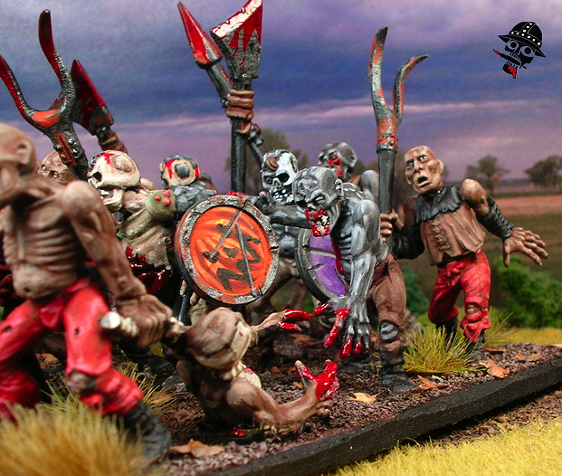 Undead Zombies from Games Workshop painted by Neldoreth - An Hour of Wolves & Shattered Shields
