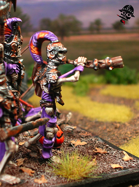 Undead Skeleton Revenants from Mantic Miniatures painted by Neldoreth - An Hour of Wolves & Shattered Shields