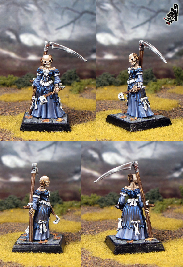 Undead Lady from Freebooter Miniatures painted by Neldoreth - An Hour of Wolves & Shattered Shields