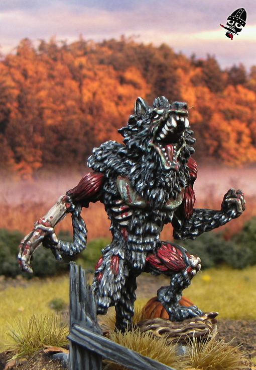Zombie from Mantic Games painted by Neldoreth - An Hour of Wolves & Shattered Shields