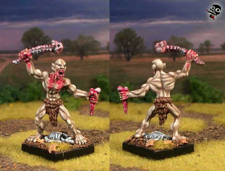 Ghoul from Reaper Miniatures painted by Neldoreth - An Hour of Wolves & Shattered Shields