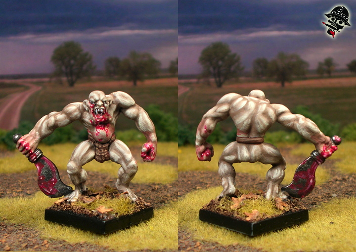 Wild Orc Zombie from Unknown painted by Neldoreth - An Hour of Wolves & Shattered Shields