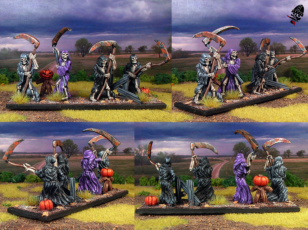 Undead wraith unit from ?? If you know please contact me! ?? painted by Neldoreth - An Hour of Wolves & Shattered Shields