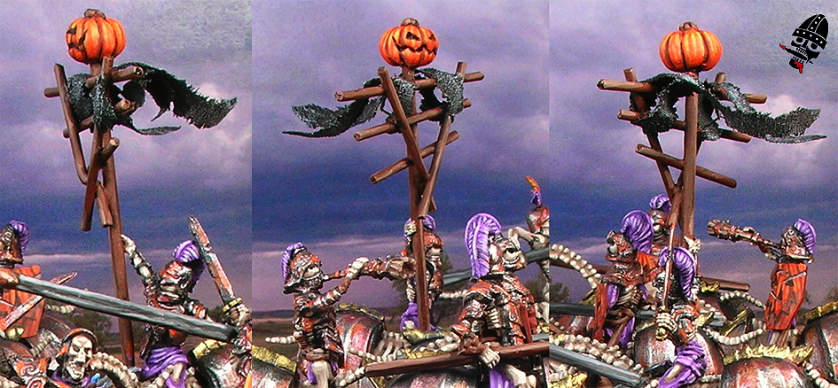 Undead mounted skeleton Revenant or Grave Guard from Games Workshop and Mantic Games painted by Neldoreth - An Hour of Wolves & Shattered Shields