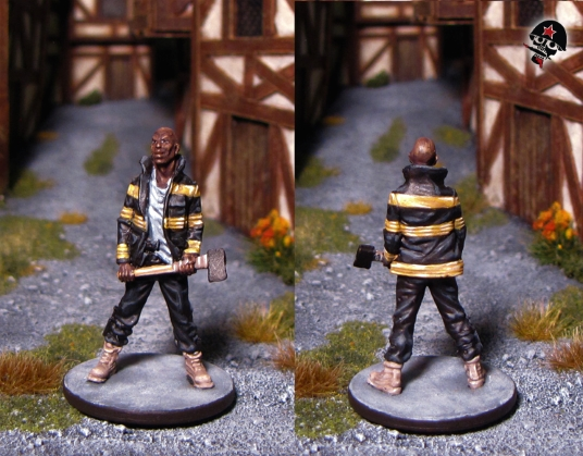 Dan, Zombicide survivor from Cool Mini or Not painted by Neldoreth - An Hour of Wolves & Shattered Shields