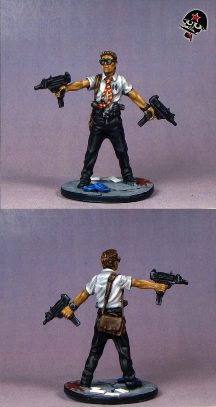 Doug, Zombicide survivor from Cool Mini or Not painted by Neldoreth - An Hour of Wolves & Shattered Shields