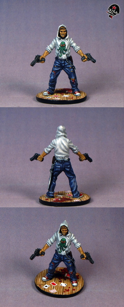 Josh, Zombicide survivor from Cool Mini or Not painted by Neldoreth - An Hour of Wolves & Shattered Shields
