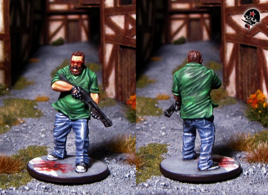 Joshua, Zombicide survivor from Cool Mini or Not painted by Neldoreth - An Hour of Wolves & Shattered Shields
