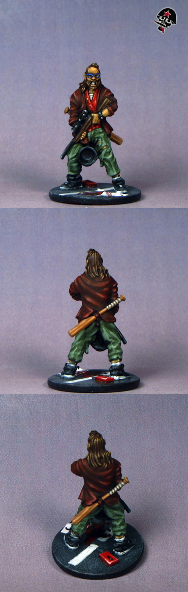 Ned, Zombicide survivor from Cool Mini or Not painted by Neldoreth - An Hour of Wolves & Shattered Shields