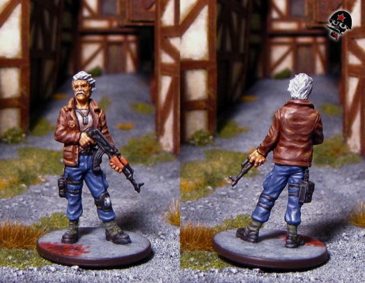 Terry, Zombicide survivor from Cool Mini or Not painted by Neldoreth - An Hour of Wolves & Shattered Shields