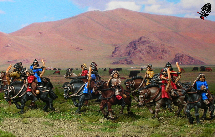 Mongol Miniatures from Navwar painted by Neldoreth