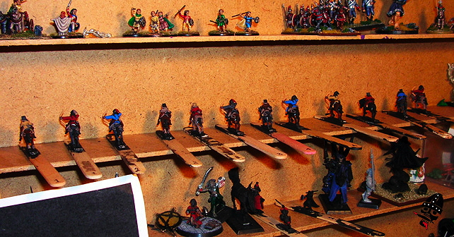 All the 15mm Navwar Mongols are blocked out and ready for highlighting